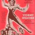 Stormy Weather Keeps Rainin' All The Time Sheet Music Vintage Koehler Arlen Mills