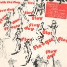 The Flat Foot Floogee Vintage Sheet Music Gaillard Stewart Green