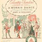 Country Gardens Handkerchief Dance Vintage Sheet Music Williams Boston Piano