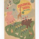 Vintage Treasure Chest Of Children's Songs And Games 1935