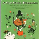 Vintage A Cat Game Fiddling Song Book Children's Paul Kapp 1956