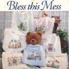 Bless This Mess #810 Bibs Cross Stitch Cathy Livingston
