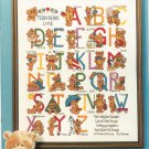 Alphabears Book 79 Cross Stitch & Needlepoint Alphabets Designs Projects