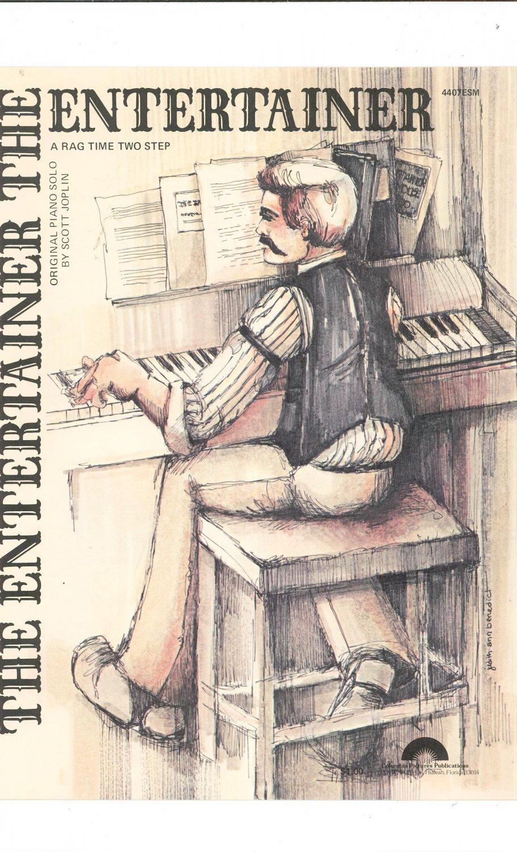 the entertainer sheet music original pdf