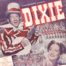 Dixie Ana 6 Songs Vintage Sheet Music Crosby Lamour Paull Pioneer