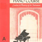 Vintage John Schaum Piano Course The Red Book A Belwin