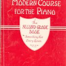 Vintage John Thompson's Modern Course For The Piano Second Grade Willis