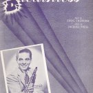 Vintage Breathless Sheet Music Cherkose Press Campbell