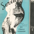 Serenade Piano Solo Sheet Music Vintage Schubert Moderne