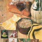 Vintage Odds n Ends Knit and Crochet Leisure Arts Leaflet 99