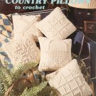 Country Pillows To Crochet by Sue Penrod Leisure Arts Leaflet 1143