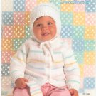 Bernat Sweethearts Baby Knit Book Number 520