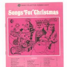 Songs For Christmas Chord Organ GE Song Collection Number Eight