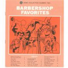 Barbershop Favorites Chord Organ GE Song Collection Number Two