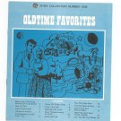 Oldtime Favorites Chord Organ GE Song Collection Number One