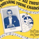 Believe Me If All Those Endearing Young Charms Freddy Martin Sheet Music Calumet Vintage