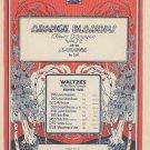 Orange Blossoms Waltz Op. 36 Ludovic Sheet Music Century Vintage