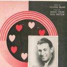 Bless Your Heart Stride Enston Drake Duchin On Cover Sheet Music Donaldson Vintage