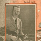 It Ain't Gonna Rain No Mo' Hall Sheet Music Forster Vintage