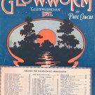 The Glow Worm Gluhwurmchen Idyl Lincke Sheet Music Marks Vintage
