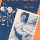 Dance With A Dolly Hole In Her Stockin Frankie Carle On Cover Sheet Music Shapiro Vintage