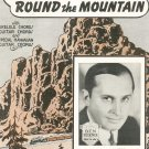 She'll Be Coming Round The Mountain Ben Bernie On Cover Sheet Music Calumet Vintage