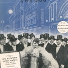 On The Banks Of The Wabash Dresser My Gal Sal Sheet Music Paull Pioneer Vintage