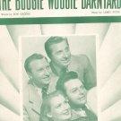 The Boogie Woogie Barnyard Fitin George Helen Carol Satisfiers On Cover Sheet Music Jewel Vintage