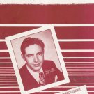 Sentimental Journey Green Brown Homer Andy Russell On Cover Sheet Music Morris Vintage
