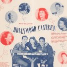 Sweet Dreams Sweetheart Jerome Koehler Hollywood Canteen Sheet Music Remick Vintage