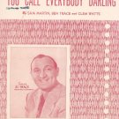 You Call Everybody Darling Martin Trace Watts Al Trace On Cover  Sheet Music Mayfair Vintage