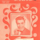 You Won't Be Satisfied Break Heart James Stock Art Mooney On Cover Sheet Music Mutual Vintage