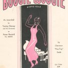 The Original Boogie Woogie Piano Solo Pine Top Smith Sheet Music Melrose Vintage
