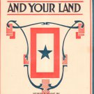 For It Is My Land And Your Land Mills Sheet Music Mills Vintage