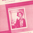 Dear Hearts And Gentle People Hilliard Fain Dinah Shore On Cover Sheet Music Morris Vintage