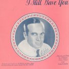 Mother Of Mine I Still Have You Jolson Silver Clarke Al Jolson On Cover Sheet Music Berlin Vintage