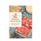 Vintage Bisquick Party Book Betty Crocker's 1957