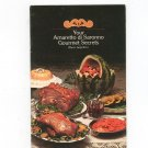 Your Amaretto di Saronno Gourmet Secrets Recipes Vintage 1974