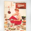 Vintage Super Deluxe Osterizer Recipes Cookbook & Manual 1960