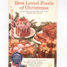 Pillsbury Best Loved Foods Of Christmas Cookbook Best Of The Bake Off