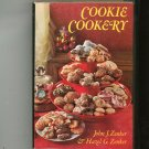 Cookie Cookery Cookbook Zenker Hard Cover First Edition With Dust Jacket