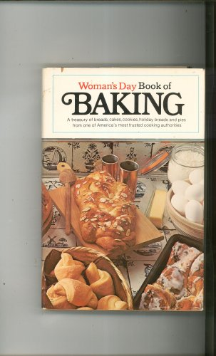 Woman's Day Book Of Baking Cookbook Hard Cover With Dust Jacket
