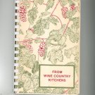 From Wine Country Kitchens Cookbook Regional New York Womens Auxiliary Vintage