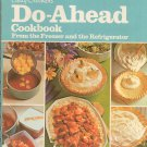 Betty Crocker's Do Ahead Cookbook From Freezer & Refrigerator Vintage Hard Cover 0307096149