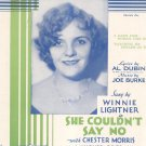 Watching My Dreams Go By Dubin Burke Sheet Music Witmark Vintage