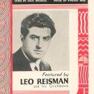 Were You Sincere Leo Reisman On Cover Meskill Rose Sheet Music Bourne Vintage