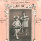 When Shall We Meet Again Duncan Sisters On Cover Egan Whiting Sheet Music Remick Vintage