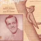 The Woodpecker Song Adamson Lazzaro Sheet Music Robbins Vintage