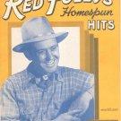 Vintage Red Foley's Homespun Hits Music Book