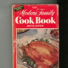 Vintage The Modern Family Cookbook By Meta Given New Revised Edition